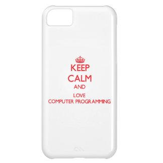Guarde la calma y ame la programación informática