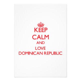 Guarde la calma y ame la República Dominicana