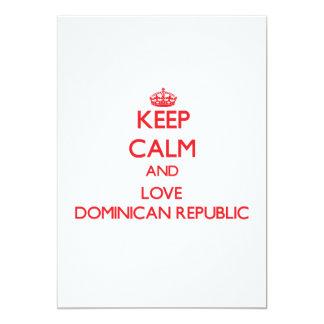 Guarde la calma y ame la República Dominicana Anuncios Personalizados
