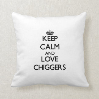 Guarde la calma y ame los Chiggers
