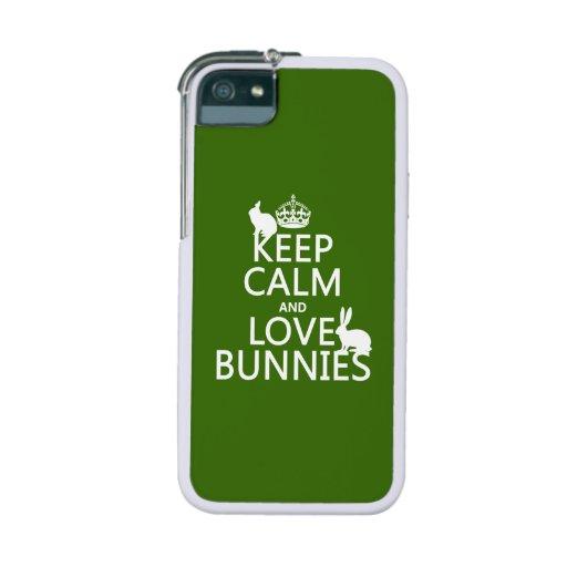 Guarde la calma y ame los conejitos - todos los co