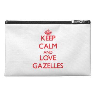 Guarde la calma y ame los Gazelles