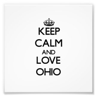 Guarde la calma y ame Ohio