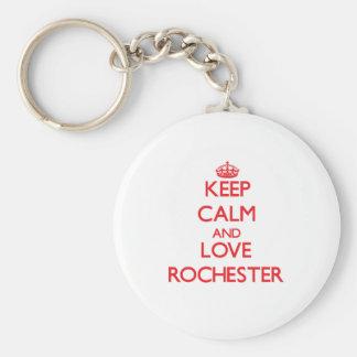 Guarde la calma y ame Rochester