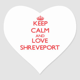 Guarde la calma y ame Shreveport