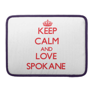 Guarde la calma y ame Spokane