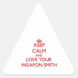Guarde la calma y ame su arma Smith