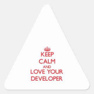 Guarde la calma y ame su desarrollador