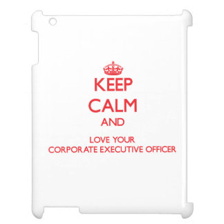 Guarde la calma y ame su oficina de ejecutivo empr
