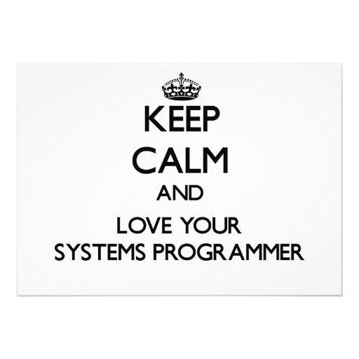 Guarde la calma y ame su programador comunicado
