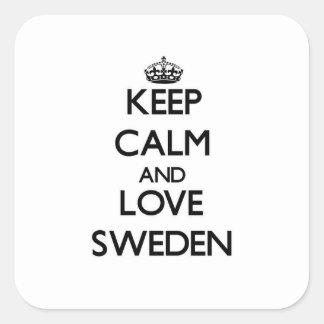 Guarde la calma y ame Suecia