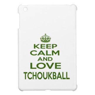 Guarde la calma y ame Tchoukball