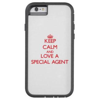 Guarde la calma y ame un agente especial funda para  iPhone 6 tough xtreme