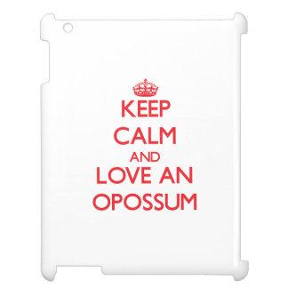 Guarde la calma y ame un oposum