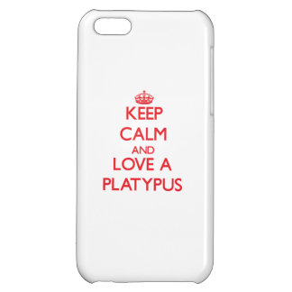Guarde la calma y ame un Platypus