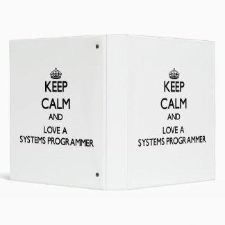 Guarde la calma y ame un programador