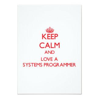 Guarde la calma y ame un programador anuncio
