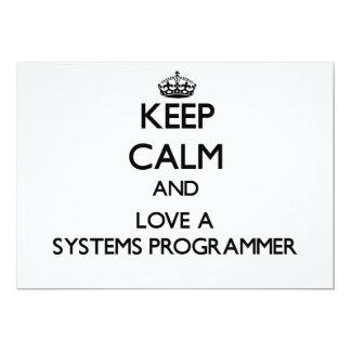 Guarde la calma y ame un programador comunicados personales