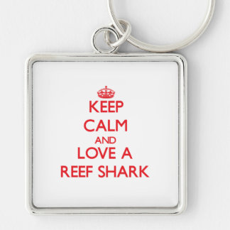 Guarde la calma y ame un tiburón del filón