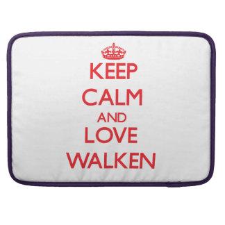 Guarde la calma y ame Walken Funda Macbook Pro