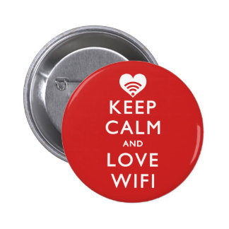 Guarde la calma y ame WiFi Pin