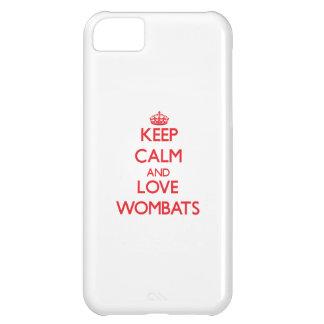 Guarde la calma y ame Wombats