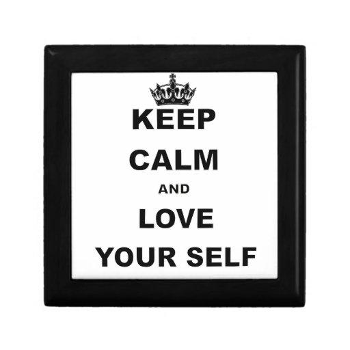 GUARDE la CALMA Y AME YOURSELF.png Cajas De Recuerdo
