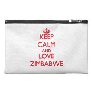 Guarde la calma y ame Zimbabwe