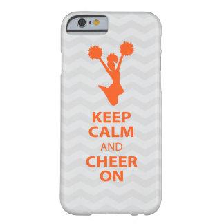 GUARDE LA CALMA y ANIME ENCENDIDO - naranja - el Funda De iPhone 6 Barely There