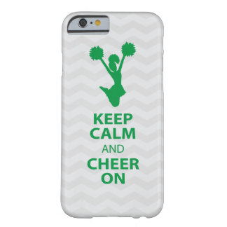 GUARDE LA CALMA y ANIME ENCENDIDO - VERDE - el Funda Barely There iPhone 6