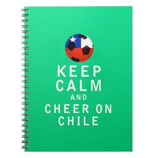 Guarde la calma y anímela en Chile