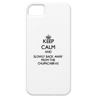 Guarde la calma y apoye lentamente lejos de iPhone 5 carcasas