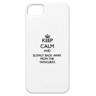 Guarde la calma y apoye lentamente lejos de iPhone 5 protectores