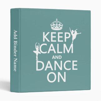 """Guarde la calma y baile en (ballet) (todos los col carpeta 1"""""""