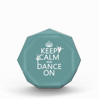 Guarde la calma y baile en (ballet) (todos los col