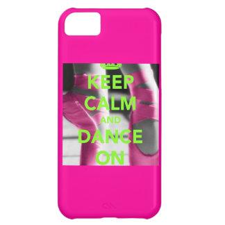 Guarde la calma y baile en el caso del iPhone 5