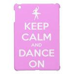 Guarde la calma y baile en el mini caso del iPad r iPad Mini Funda