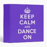 Guarde la calma y baile encendido