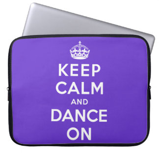 Guarde la calma y baile encendido manga computadora