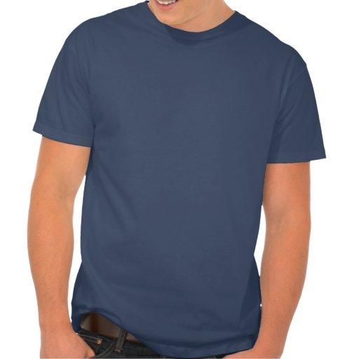Guarde la calma y bátase en la camiseta remeras
