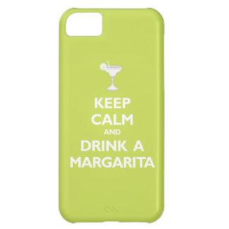 Guarde la calma y beba a una Margarita (la fruta c
