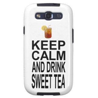 Guarde la calma y beba el té dulce galaxy SIII cobertura