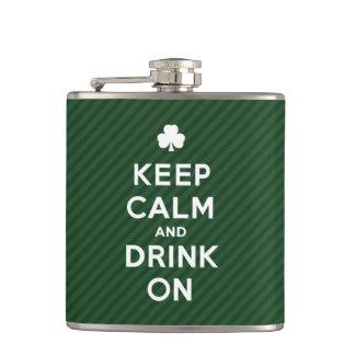 Guarde la calma y beba encendido - el frasco diver