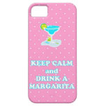 Guarde la calma y beba una caja del iPhone 5 de Ma iPhone 5 Case-Mate Carcasas