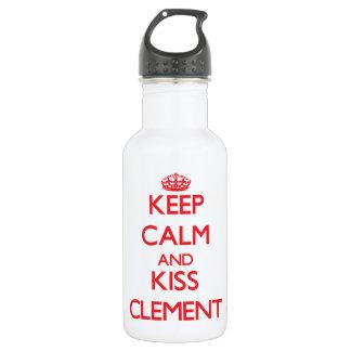 Guarde la calma y bese clemente
