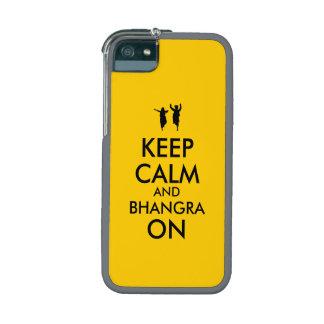 Guarde la calma y Bhangra en personalizable del