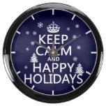 Guarde la calma y buenas fiestas relojes aquavista