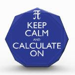 Guarde la calma y calcule encendido