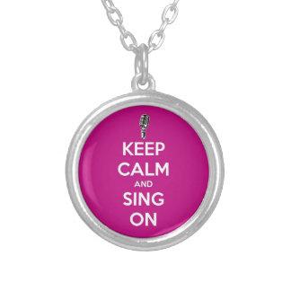 ¡Guarde la calma y cante encendido! Grimpolas Personalizadas