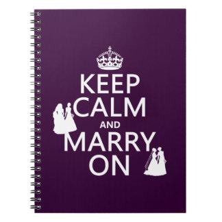 Guarde la calma y case encendido - todos los notebook